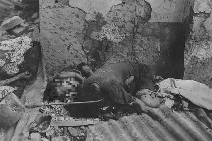 马尼拉大屠杀中被杀害的母女