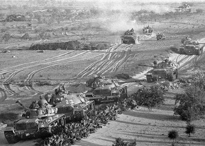 有指以军欲在六日战争中引爆原子弹吓退敌军。(资料图片)