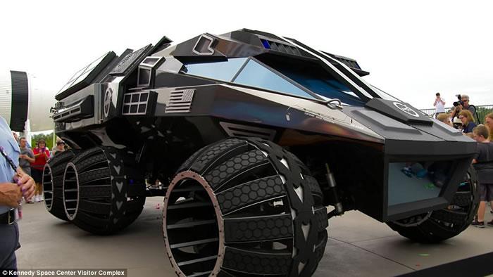 人类殖民火星的愿望即将在2020年实现 美国NASA火星概念车Mars Rover Concept亮相