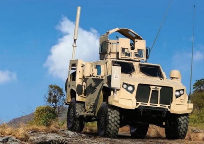 """美军新一代""""联合轻型战术车辆""""(JLTV)预计2019年开始使用 取代军用悍马车"""