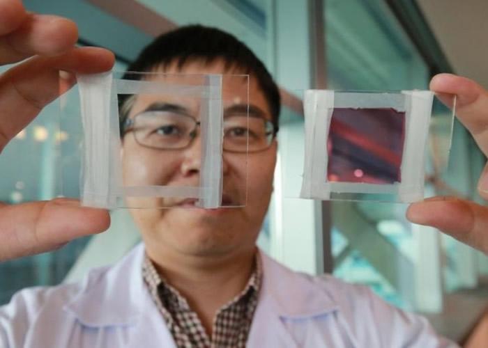 新加坡科技团队研发出新物料智能窗 一秒变色