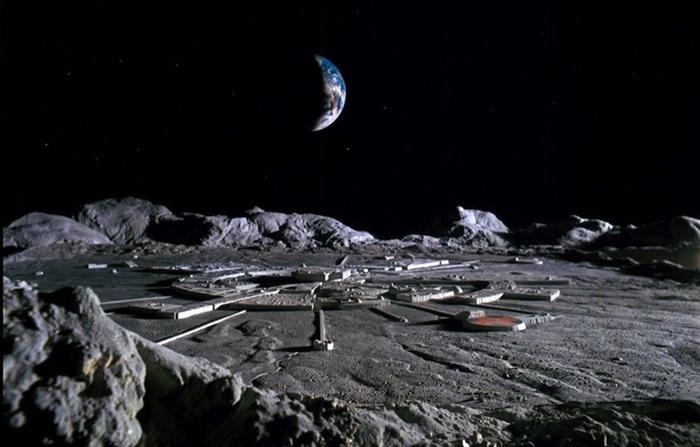 资料图:人类月球基地