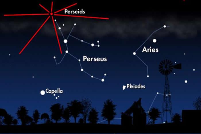2017年8月13日英仙座流星雨极大期