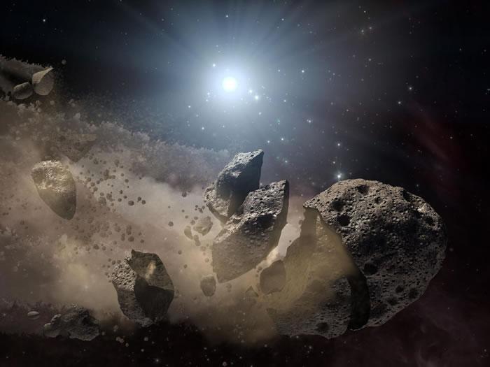 远古小行星家族揭示早期太阳系