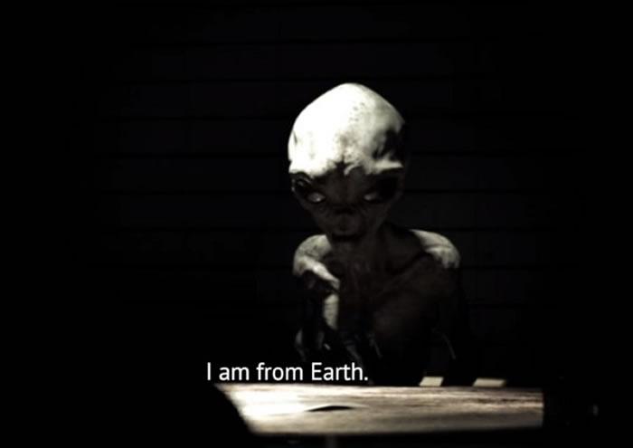 1964年美军51区外星人EBE-3访谈秘密影片曝光