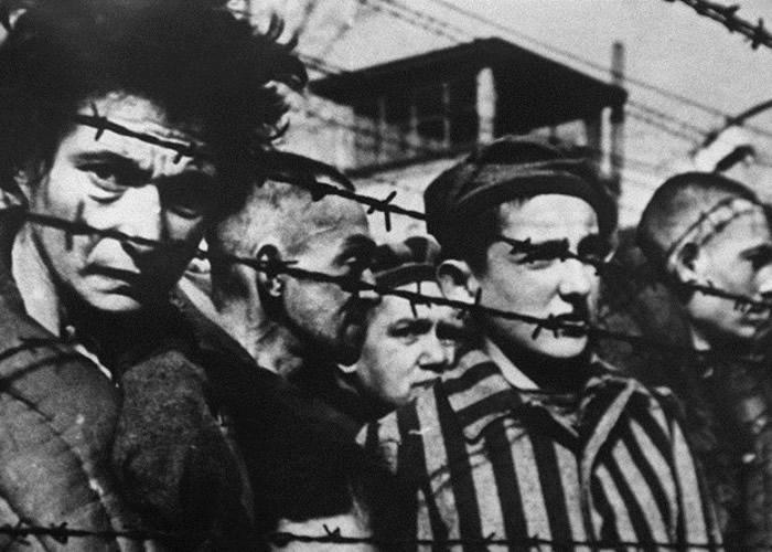 二战中不少波兰公民被囚禁于集中营内。