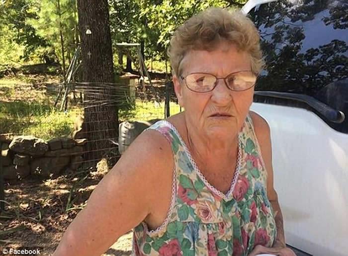 """美国俄克拉何马州72岁老妇霰弹枪杀17条毒蛇""""铜头蝮""""保卫家园"""
