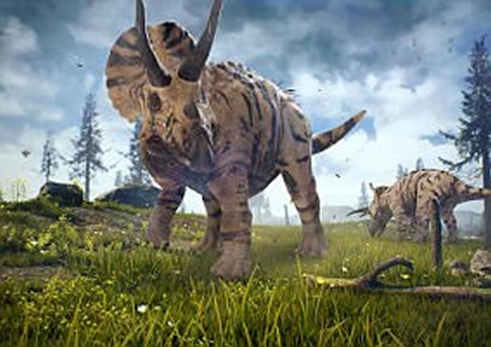 美国生态环境保护者在怀俄明州勘察被绊倒 意外发现极其罕见的三角龙颌骨化石