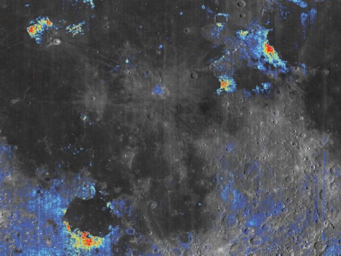 种种迹象显示,月球可能蕴含大量水分。