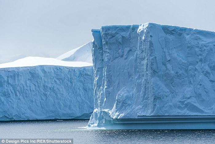 全球最大火山群:南极冰层下发现91座火山