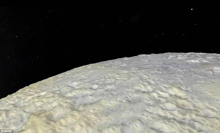 飞越冥王星 揭秘奇异地形