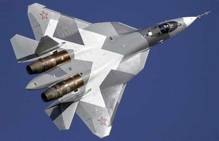 俄第五代战机正式命名为苏-57。