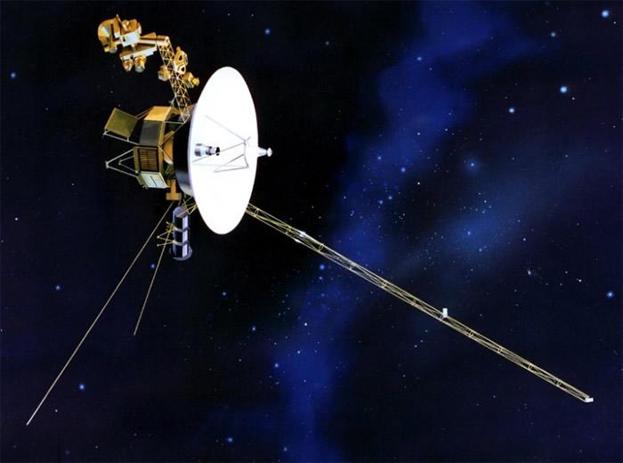 太空船旅行者一号(Voyaher 1)将迎来升空40周年 美国NASA网上征创意短讯贺生日