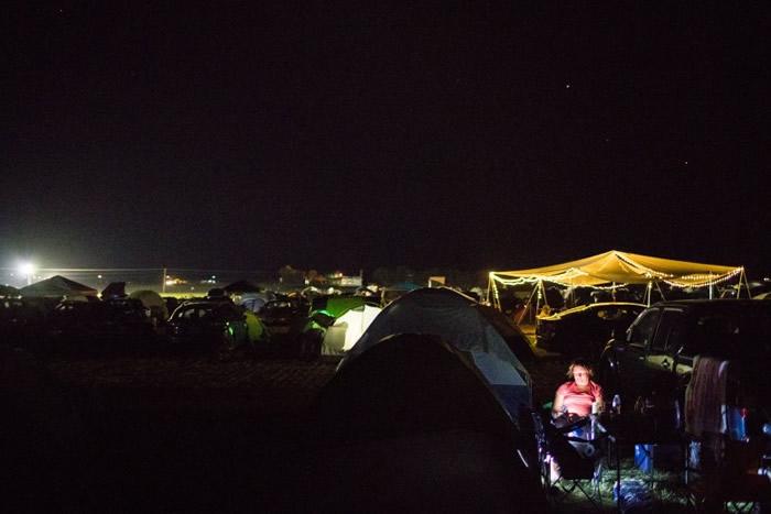 早已有人在俄勒冈州扎营等待日食。