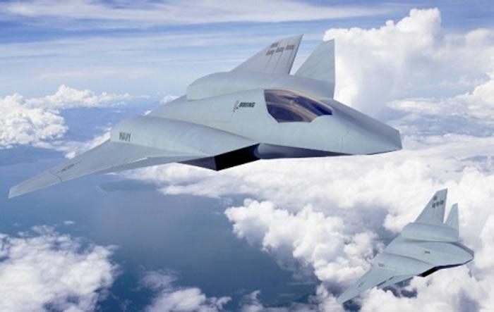 F/A-XX战斗机,波音设计的第六代战机。