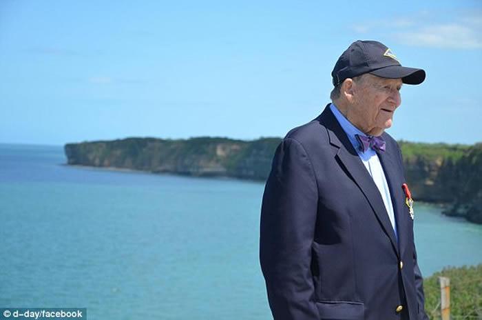 96岁美国二战英雄大兵George Klein:我欺骗了大家 没有登陆诺曼底