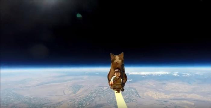 发射装置早前亦曾升上太空。