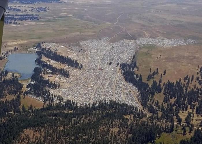 俄州有3万人搭帐蓬,准备欣赏日全食。