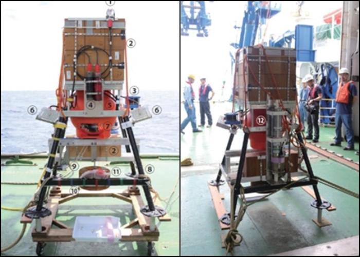 无人探测器潜入马里亚纳海沟。