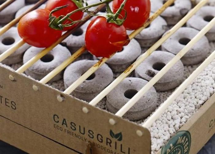 CasusGrill可完全自然分解。