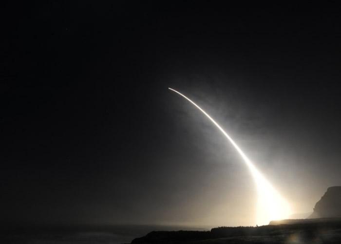 美军早前多次试射民兵3型洲际弹道导弹。