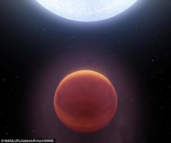 天文学家发现表面温度最高的系外行星KELT-9b 高达摄氏4300度