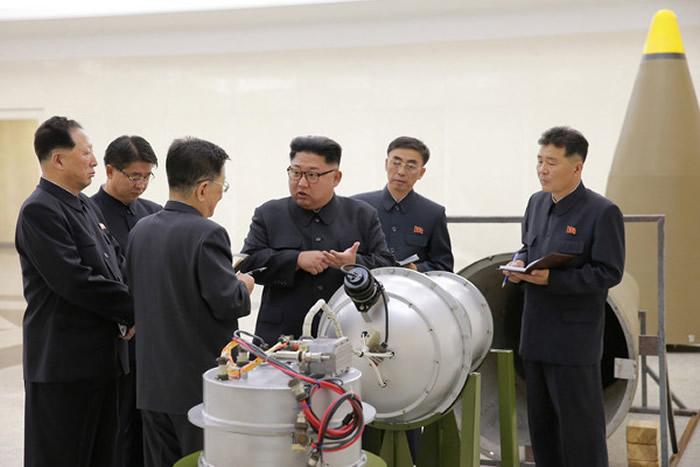 朝鲜9月3日试爆氢弹,引起地震。