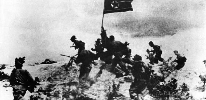 朝鲜战争初期,韩国几乎无力抵抗,朝鲜占领了90%的土地。
