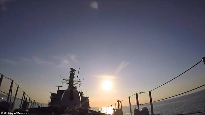 """朝鲜试爆氢弹之际 英国皇家海军""""海上拦截者""""(Sea Ceptor)导弹防卫系统测试成功"""