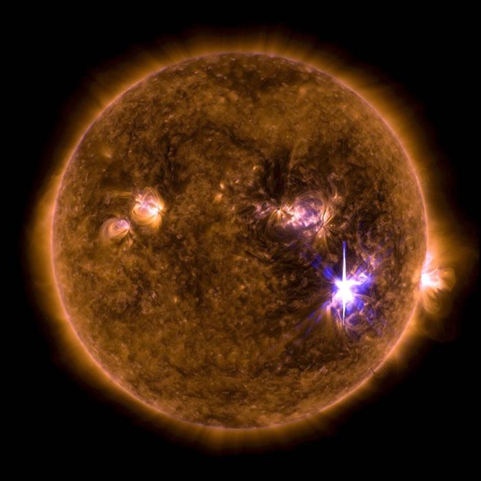 新一轮太阳风暴来了:太阳爆发X9.3级大耀斑
