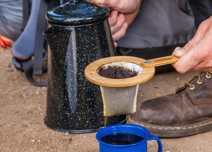 FLTRgo是以竹制的随身泡咖啡用具。