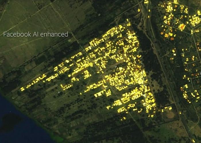 地图能准确找出地球上所有建筑物。