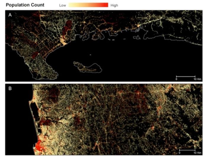 透过找出建筑物的位置,将助绘制全球人类的居住地图。
