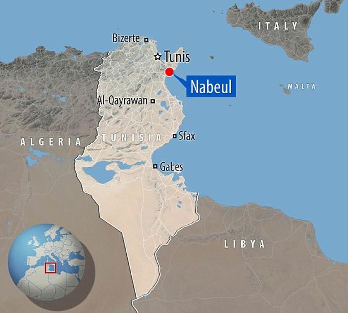 """希腊文意思为""""新城市""""的尼亚波利,在纳布勒(Nabeul)外海水底被发现。"""
