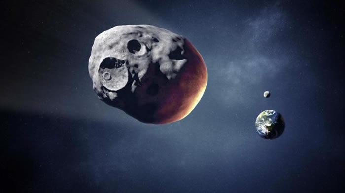 """小行星""""佛罗伦斯""""与地球擦身而过 距离仅700万公里"""