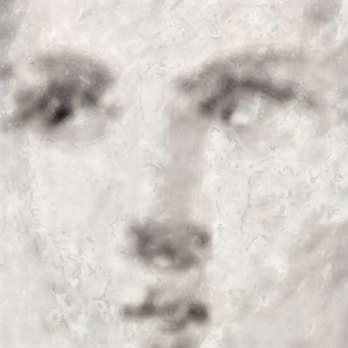 以X光技术产生的铁元素分布图能显示画作最初制作时的工艺。 PHOTOGRAPH COURTESY ROBERTO ALBERTI