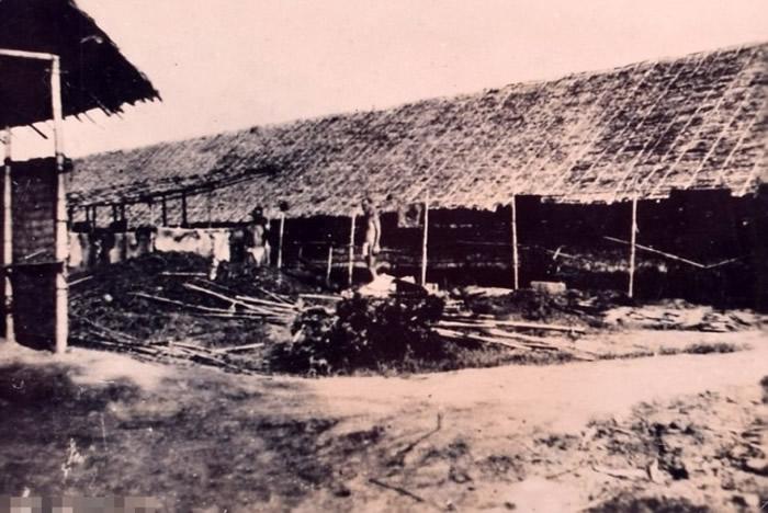 二战时日本战俘营。