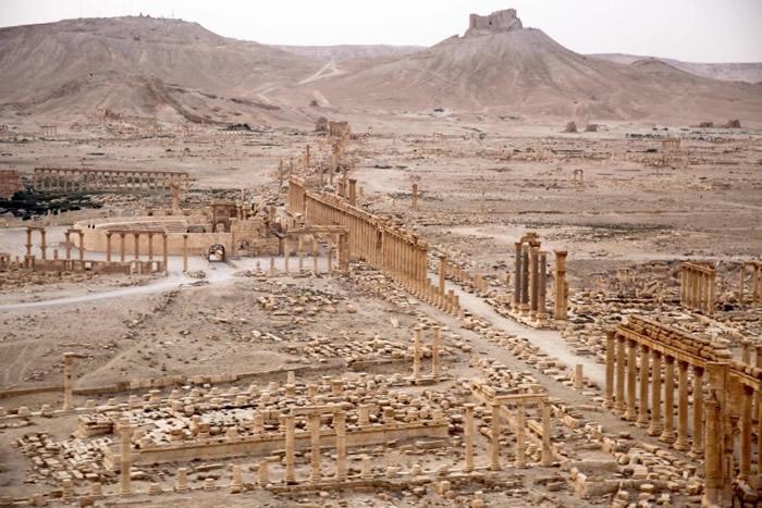 它曾是古代商队穿越敍利亚沙漠的重要中转站,也是重要的商业中心。