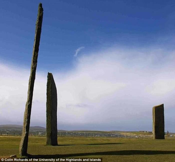 英国苏格兰奥克尼群岛上的巨石圈是新石器时代的夜店?