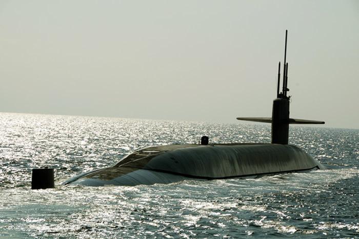 美国俄亥俄级核子潜艇马里兰号(Maryland,SSBN 738)