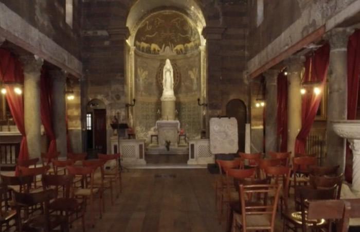 遗骨在圣母大殿被发现。