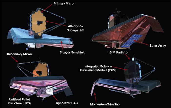 """""""哈勃太空望远镜""""的继承者""""韦伯太空望远镜""""将在2019年进入太空"""