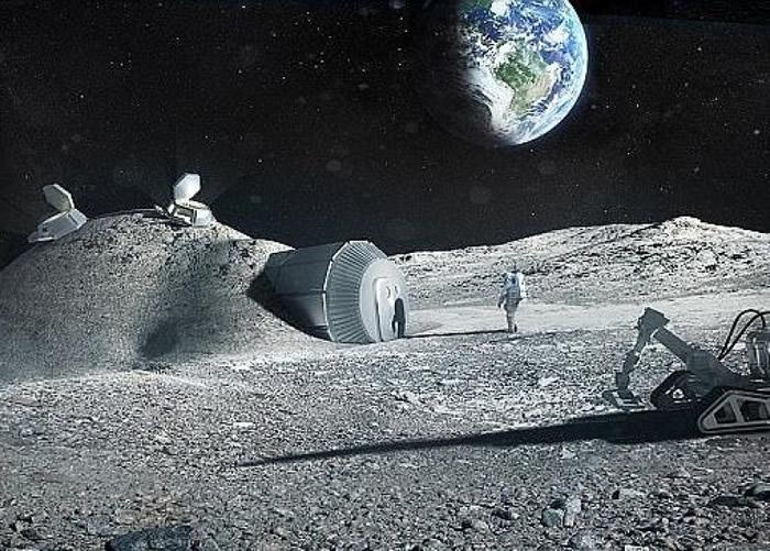 """欧洲太空总署正策划""""月球村""""计划。"""
