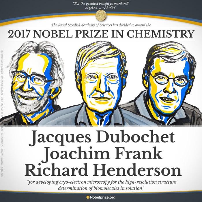 诺贝尔方面形容研究使生物化学进入了一个新的时代。