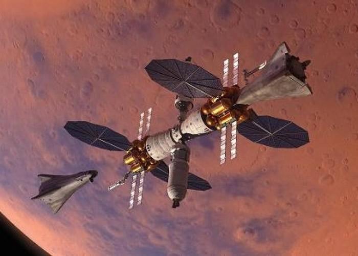 洛克希德·马丁宣布公开一款新型火星登陆器,它可以重复使用,并以水提供动力。