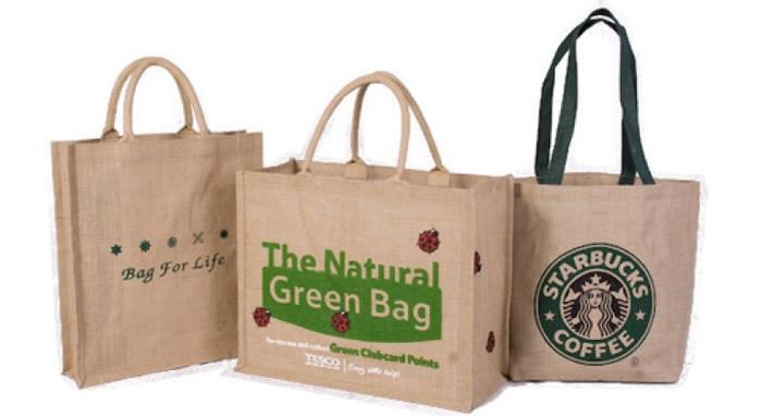 不少主张环保的人士,都会使用环保购物袋。