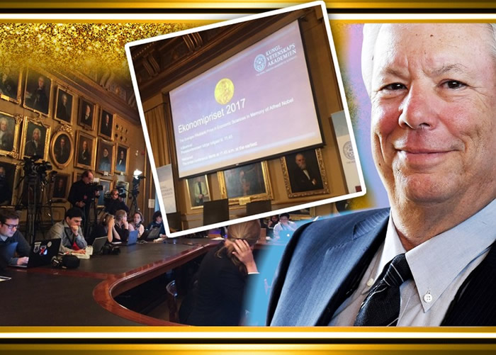 塞勒夺诺贝尔经济学奖。