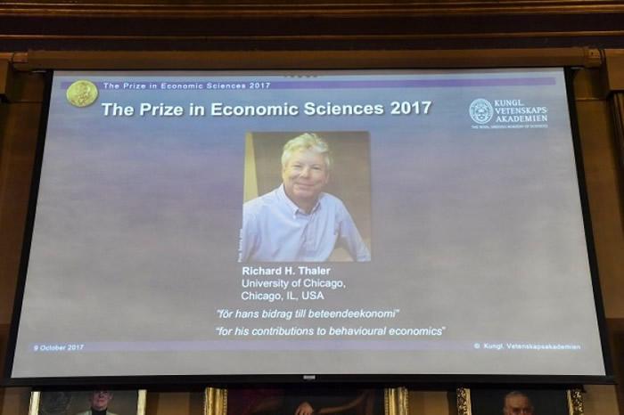 委员会指塞勒的学术研究令经济学更有人性。
