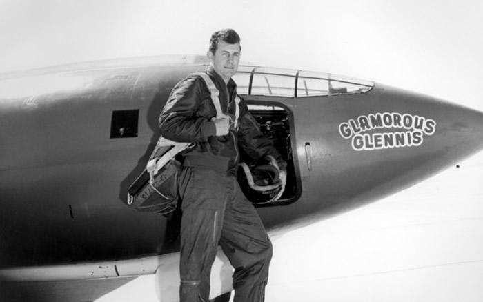 人类首次完成超音速飞行70周年 1947年10月14日美军飞行员驾驶贝尔X-1突破音障