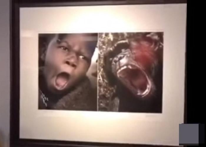 照片引发非洲留学生、网民抗议,直斥是种族歧视。